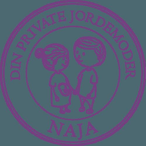 Logo Din private jordemoder Naja